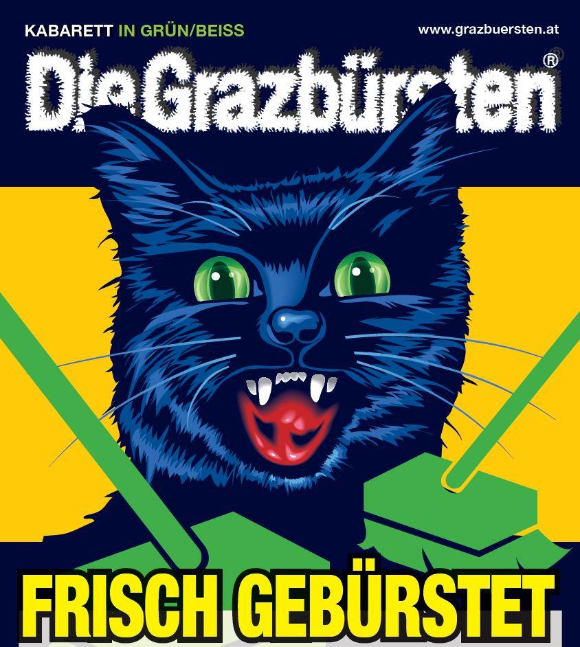 Die Grazbürsten - Kabarett in Grün/Beiss